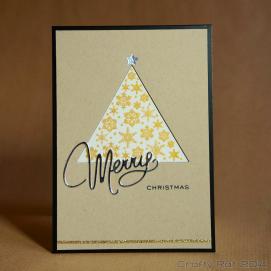 Xmas card: Sparkle trees