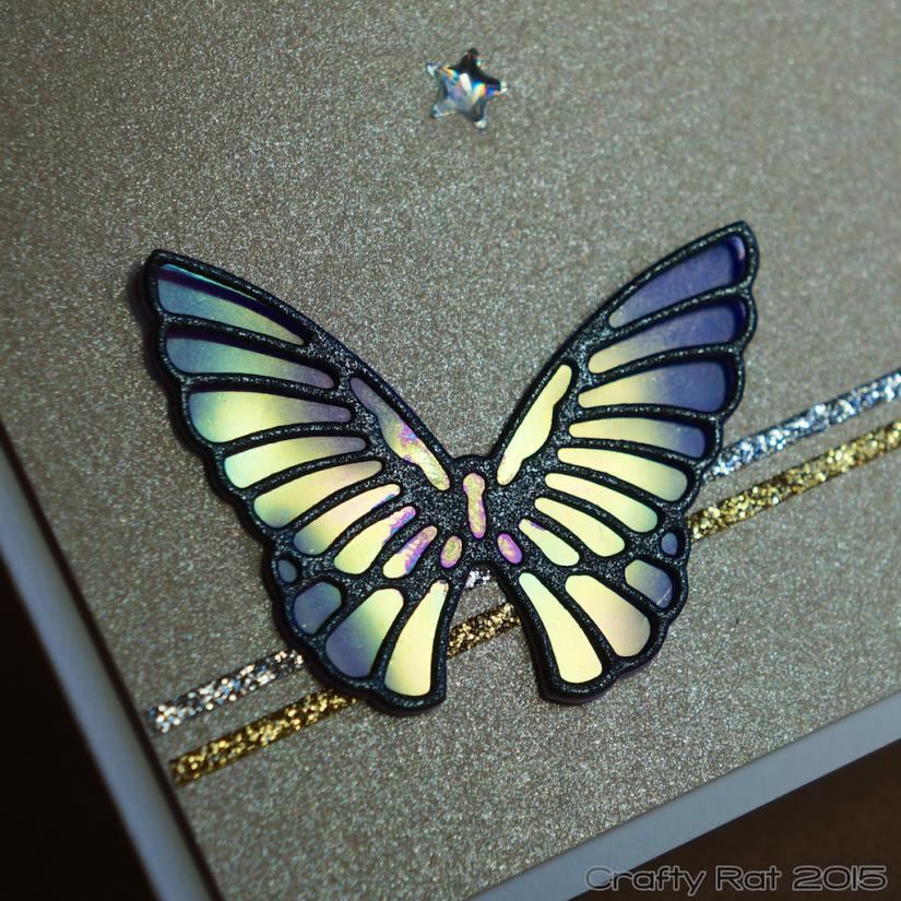 Butterfly shaker detail