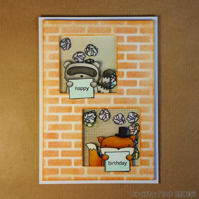 Amigos shaker card