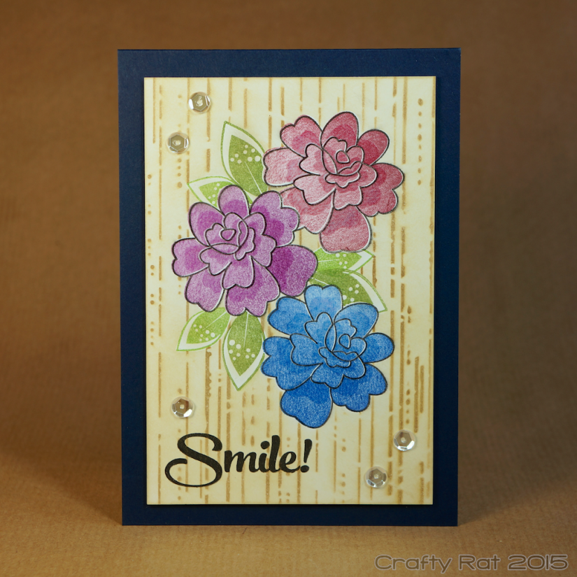 Smile: Masked flowers