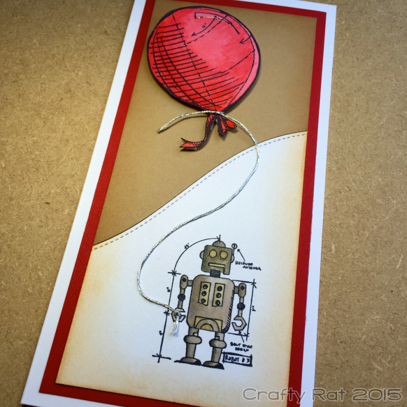 Robot and balloon