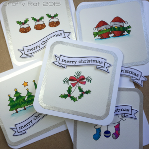 First Christmas cards