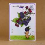 Copic blackberries