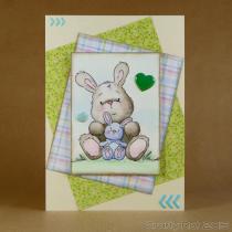 CR00176 Inktense bunnies