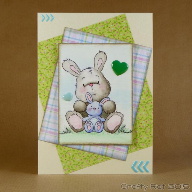 Inktense bunnies