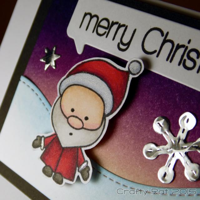 iMac Santa close-up wm
