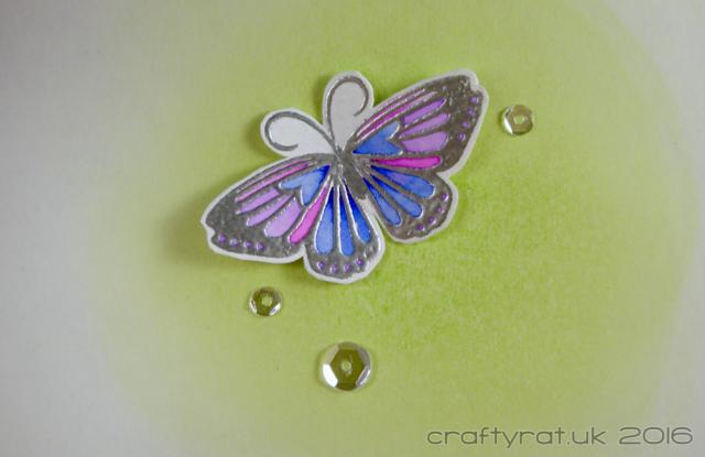 embossed butterflies - inside