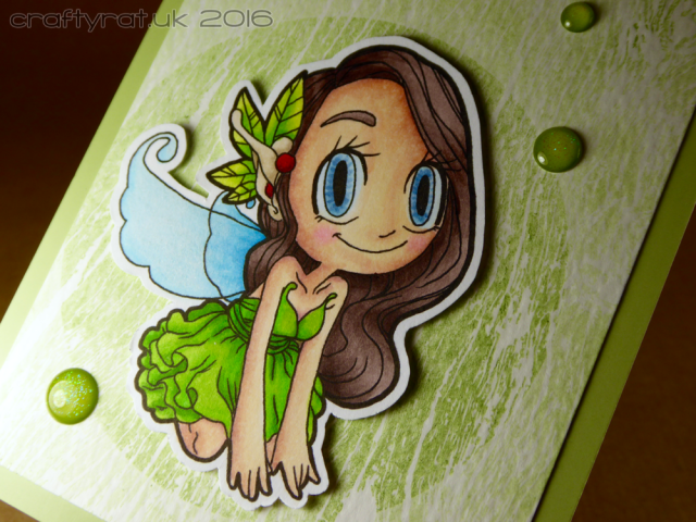 green pixie - detail