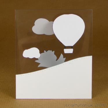acetate card - rear
