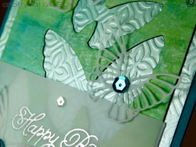 vellum butterflies - detail