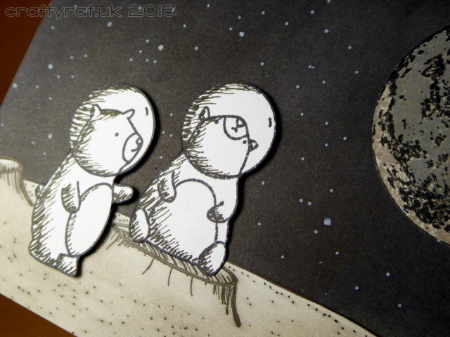 Sketchy space bears - detail