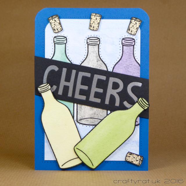 cheers bottles