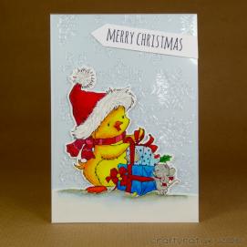 CR00282 Duck & presents
