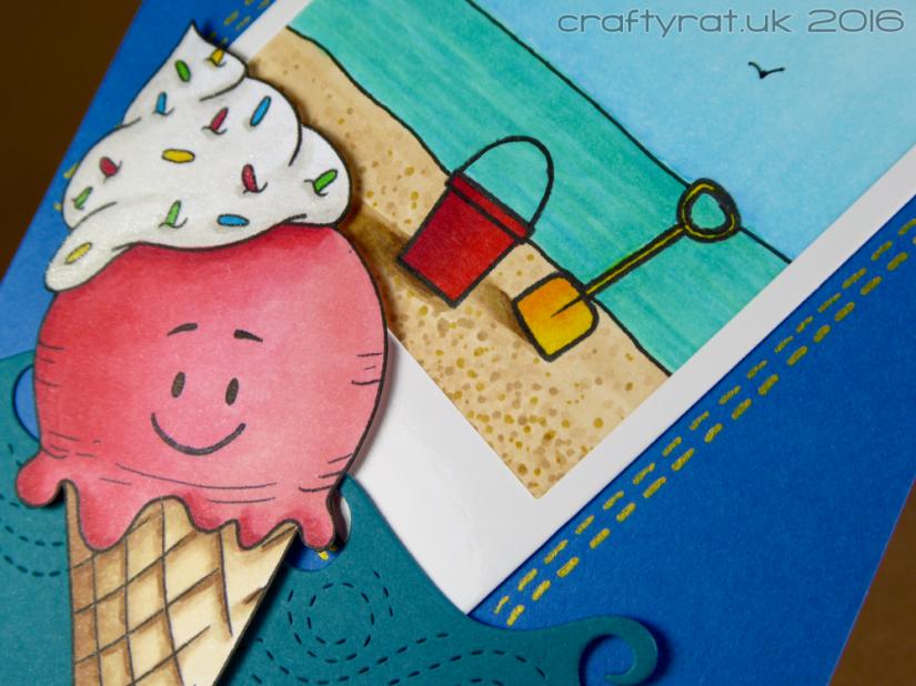 Ice cream & Polaroid - detail