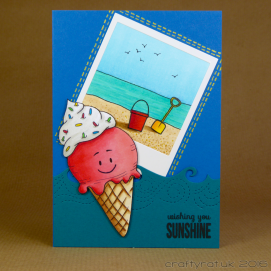 CR00283 Ice cream and Polaroid
