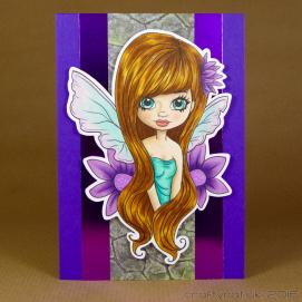 CR00289 Purple fairy