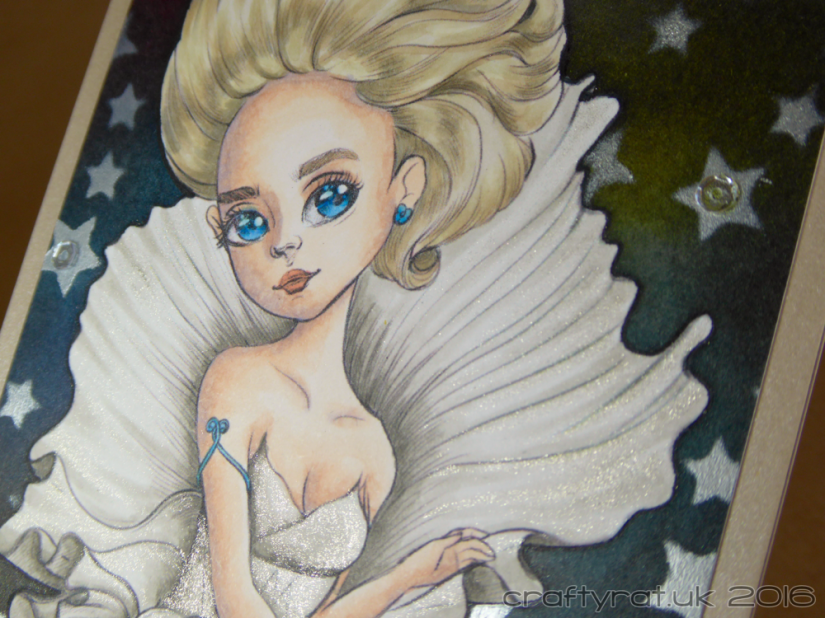 among the stars - detail