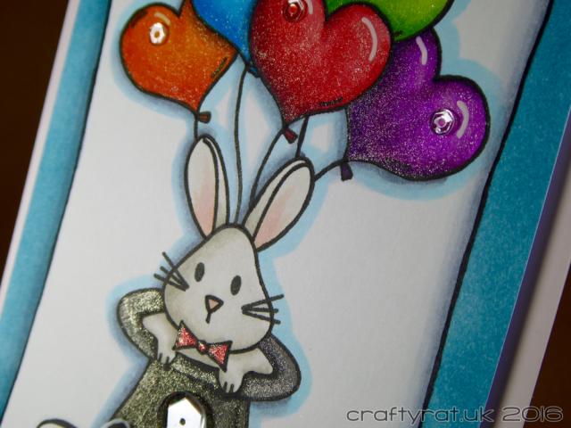 magician's bunny - detail