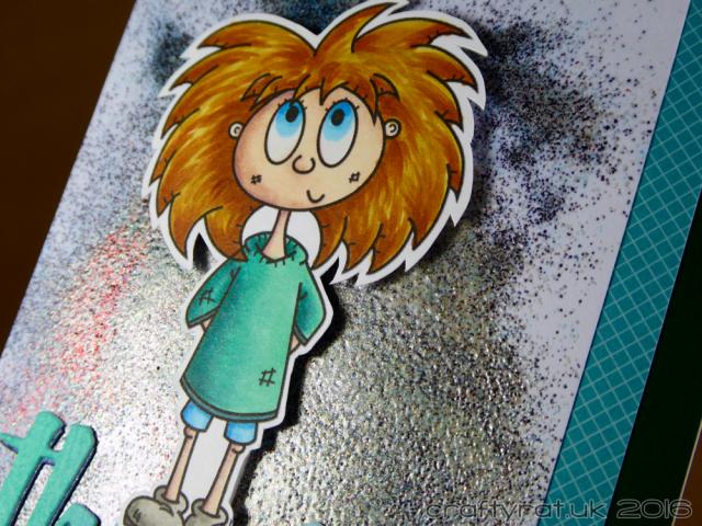 red-headed girl - detail