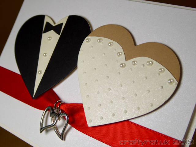 CR00299 wedding hearts - detail