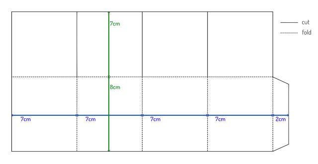 a4-box-card-template